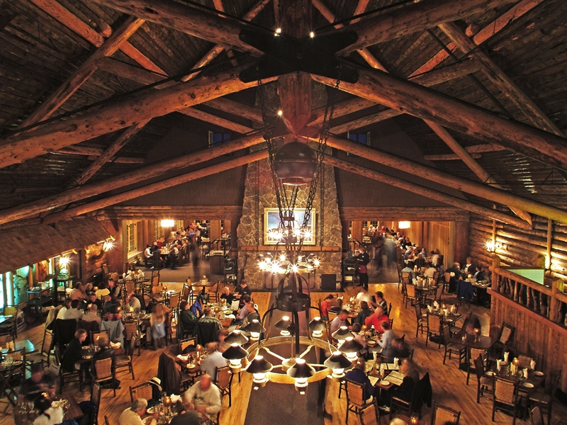 Old Faithful Inn Dinning Room