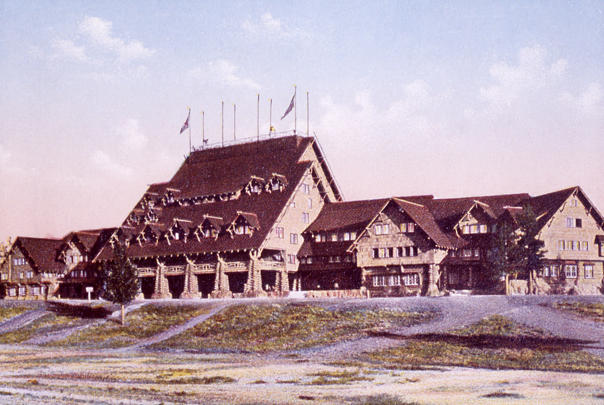 The Inn in 1967