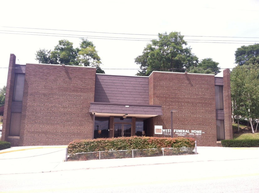 Exterior of Wylie Avenue's West Funeral Home