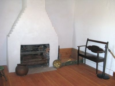 Adobe interior (image from Historical Marker Database)
