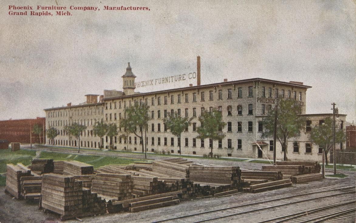 The Phoenix Factory, one of the major furniture manufacturers in the city