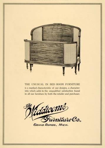 A Widdicomb advertisement