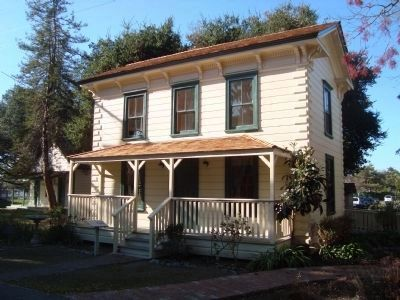 Zanker House (image from Historical Marker Database)