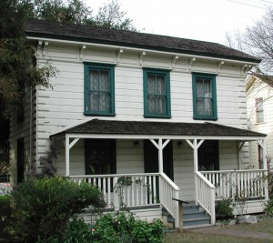 Another view of the house (image from History San Jose)