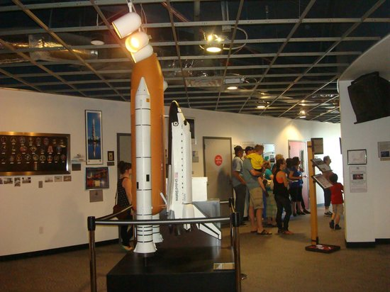 Space Shuttle exhibit.