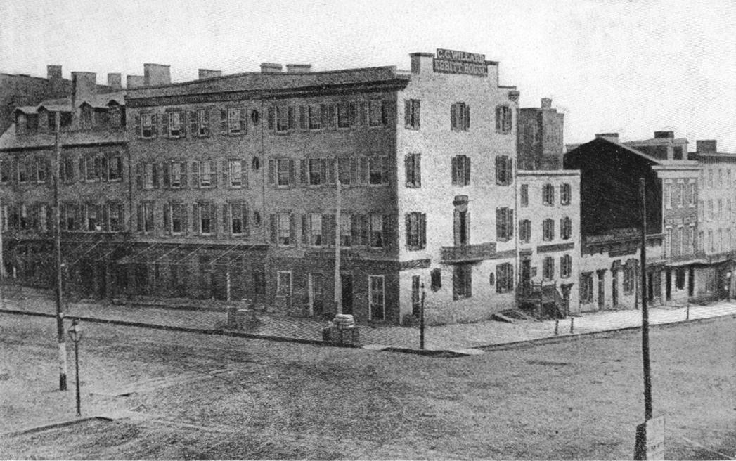 Ebbitt House in 1865