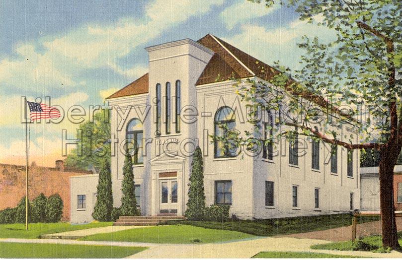 Libertyville-Town Hall/American Legion, circa 1950