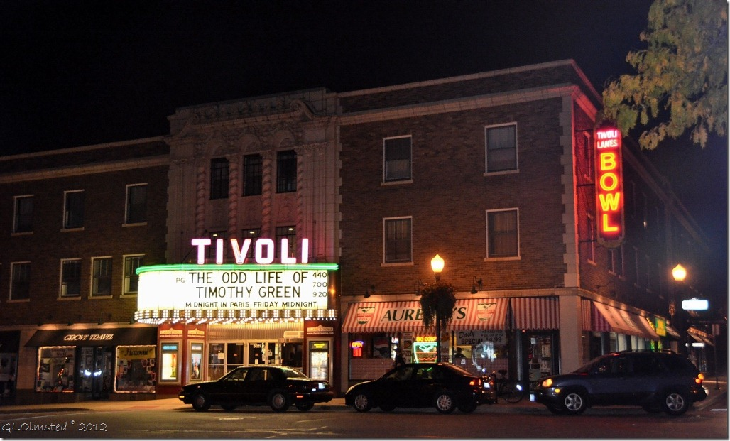 Outside of the Tivoli - source: numerous web sources.