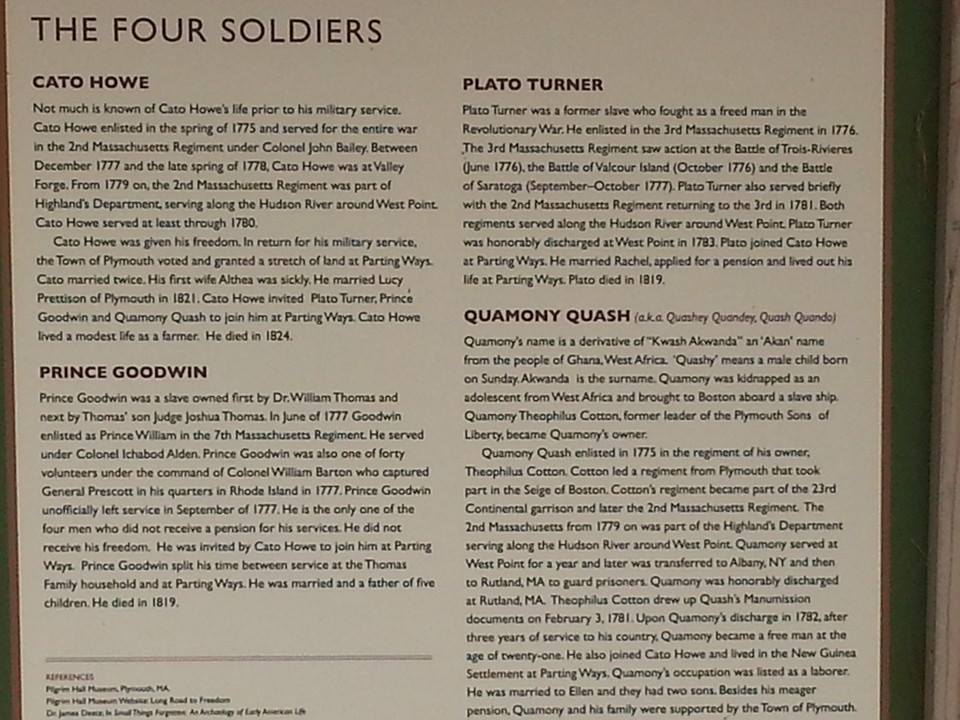 Some details on the four veterans' military service.