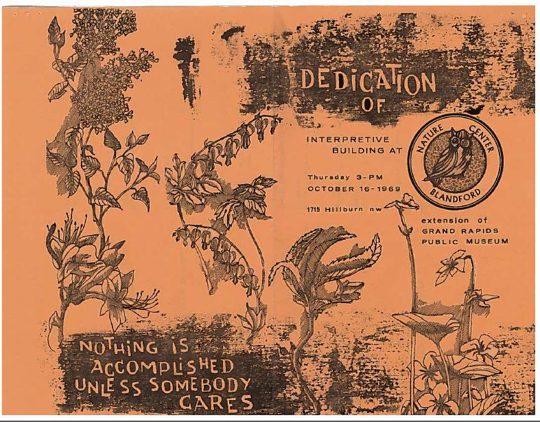 Dedication booklet