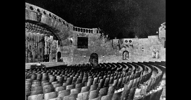 The auditorium circa 1929
