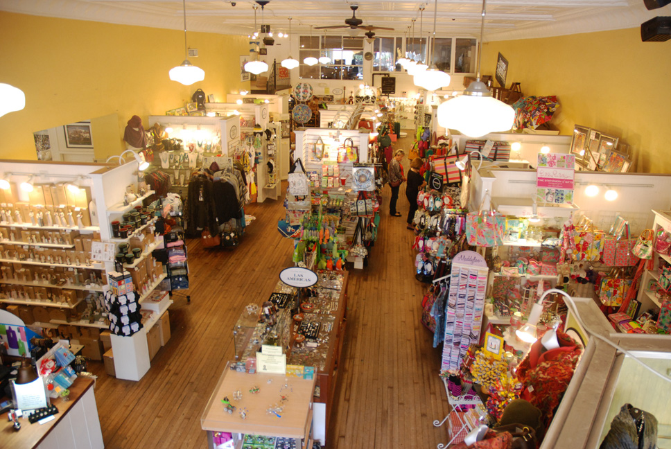 Inside View of the Shoppes at Farmers Hardware