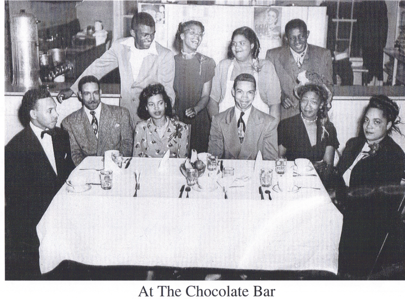 At the Chocolate Bar
