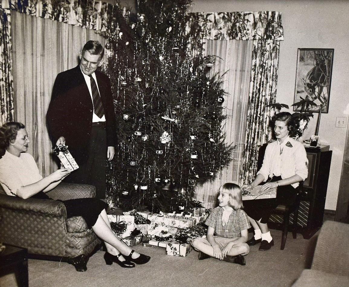 Rivers Family at Christmas