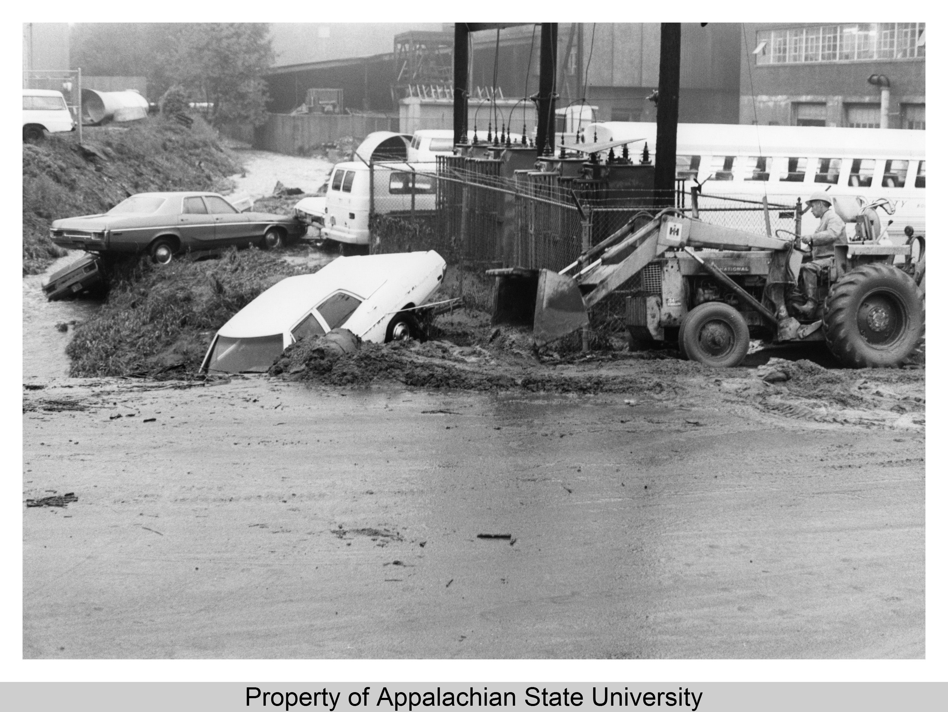 On May 28, 1973, the Kraut Creek on the southern end of campus flooded after 1.6 inches of rainfall and caused thousands of dollars of property damage