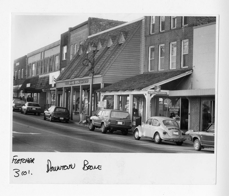 Downtown Boone--Boone Drug Co., and Our Daily Bread