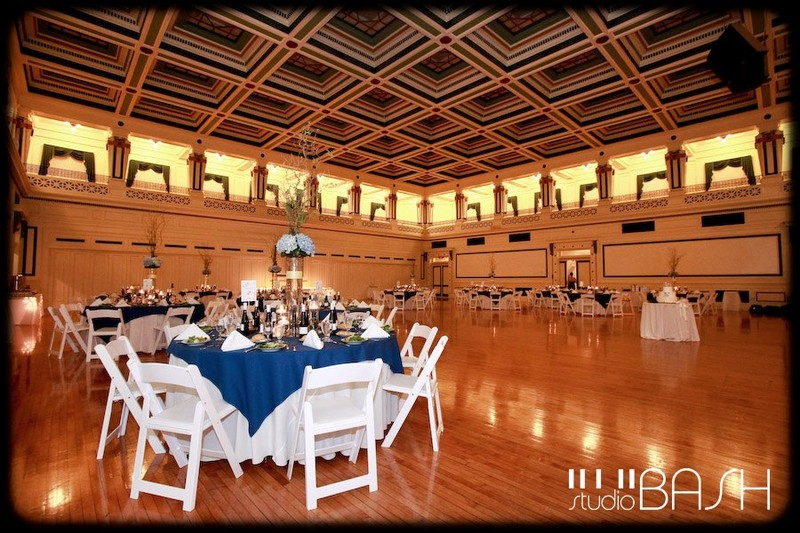 The banquet hall within the memorial.
