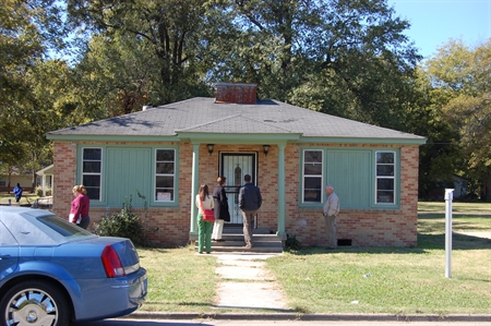 Civil rights leader Amzie Moore built this house in the 1940s.