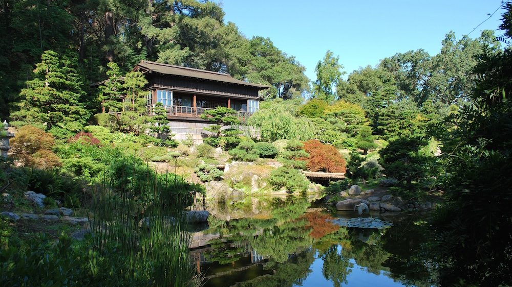 Upper House and the Hill and Pond Garden (image from Hakone Estate & Gardens)