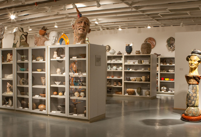 The Ceramics Research Center and Brickyard Gallery