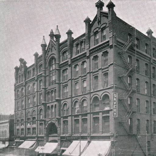 The previous Savery Hotel was also located here. It opened in 1888 and operated until it was torn down to allow the construction of the current building.