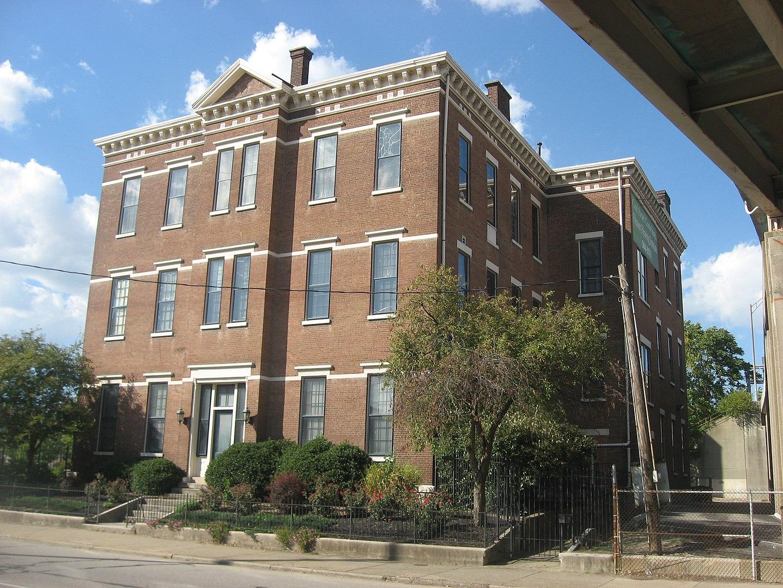 2012 photo of Kentucky Street School (Old Engelhard School)