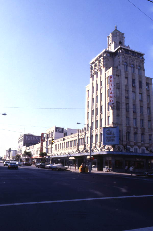 Snell Arcade in the 1960s.