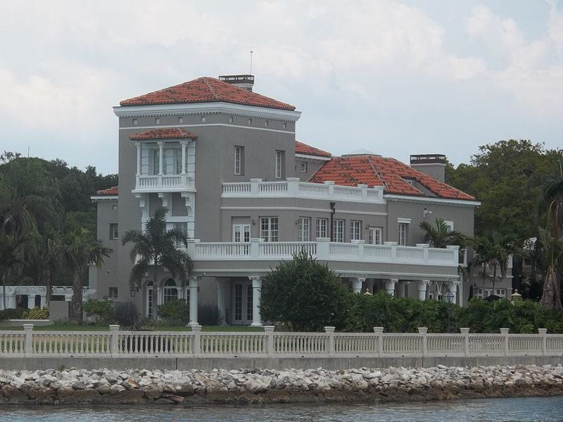 Perry Snell's modernized home on Snell Isle