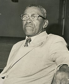 Rev. Ronda David Horton, Minister of Boone Mennonite Brethren Church from 1935 to 1986.