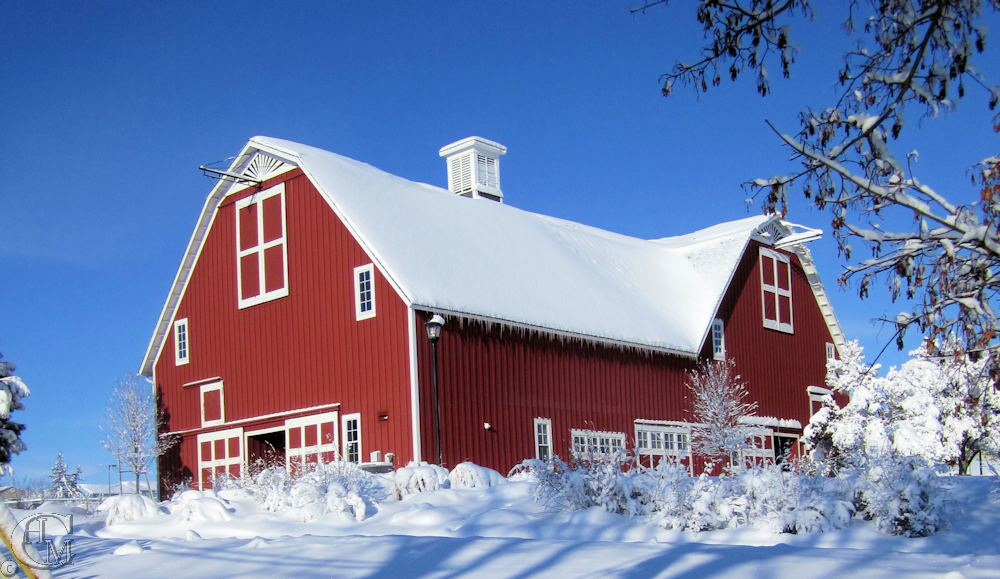 The Red Barn December 2010.