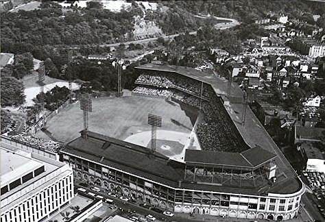 Last game at Forbes Field