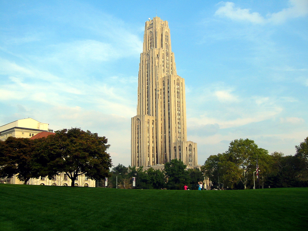 The Cathedral of Learning.
