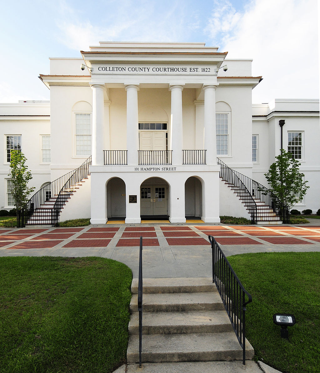 The Colleton County Courthouse