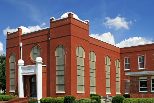 Temple Sinai was constructed in 1912.