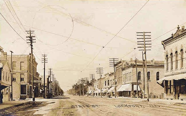 State (Main) Street, 1900. (Photo Credit: Will Country Museum, via Facebook.)