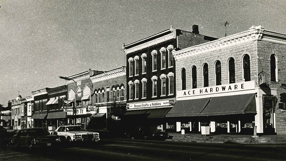 State Street -- estimated 1960s. (Photo Credit; Will Country Museum, via Facebook.)