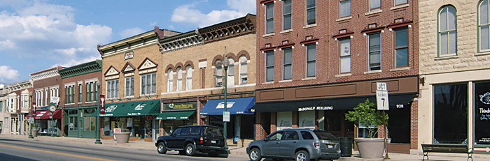 Downtown today - via the City of Lockport (http://www.cityoflockport.net/)