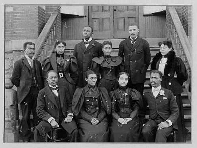 The faculty of Morris Brown College in Atlanta  Circa 1900 Atlanta University Center, Robert W. Woodruff Library Archives
