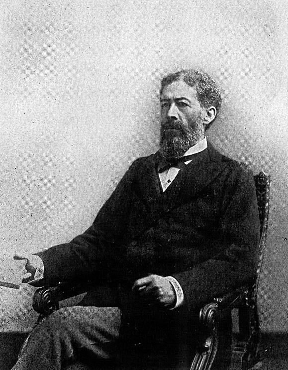 John Mercer Langston, the first dean of the Howard University School of Law, first president of Virginia Normal and Collegiate Institute, and first African American from Virginia elected to the United States Congress