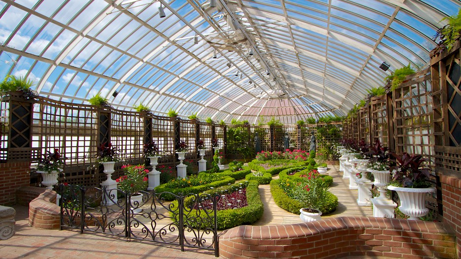One of the indoor gardens within Phipps.