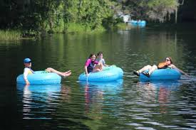 Tubing is just one of the many activities you can do at Rainbow Springs Park.