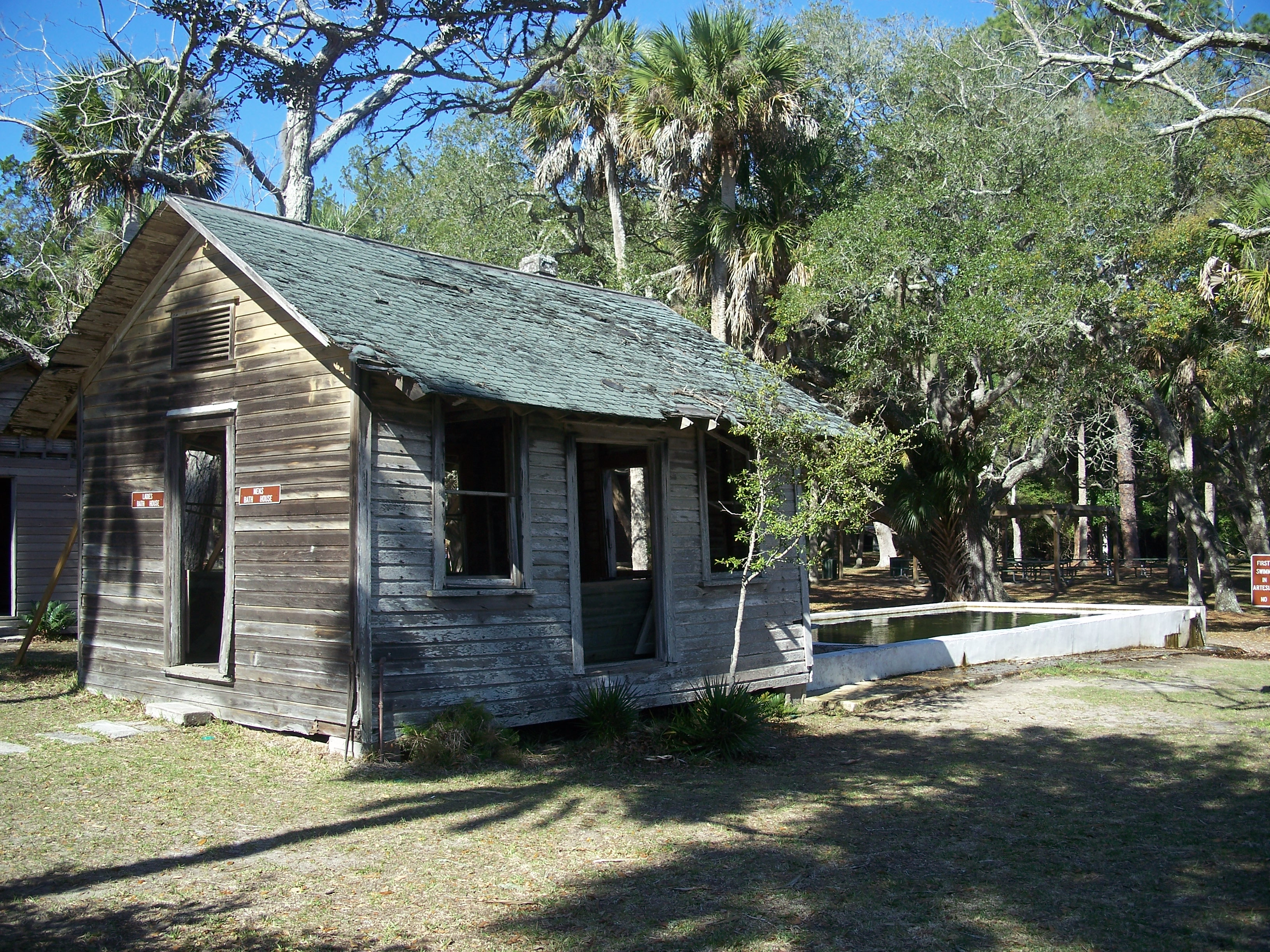 Cutting Lodge, the oldest intact structure of Flagler County, FL.