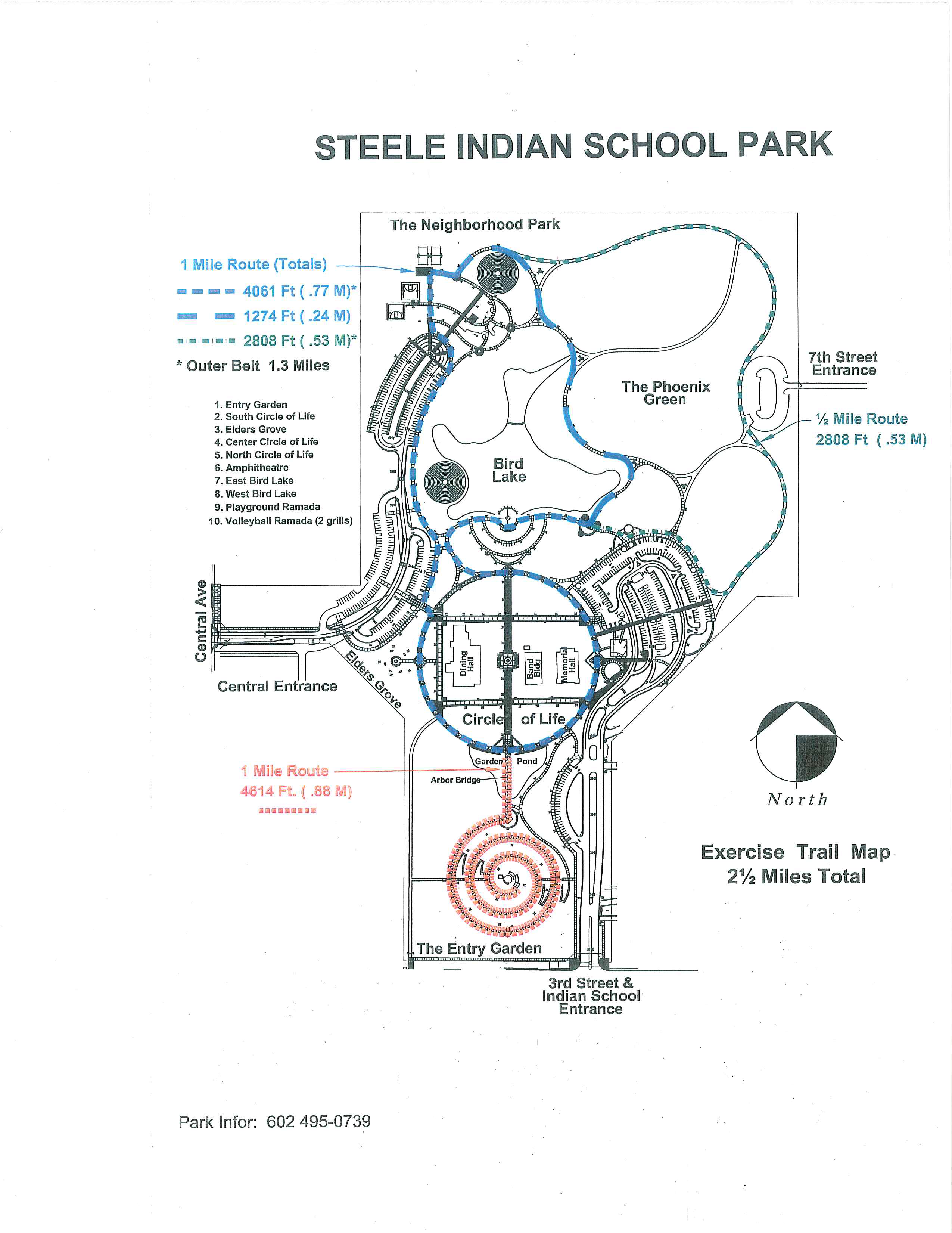 Map of Park (tap image to enlarge)