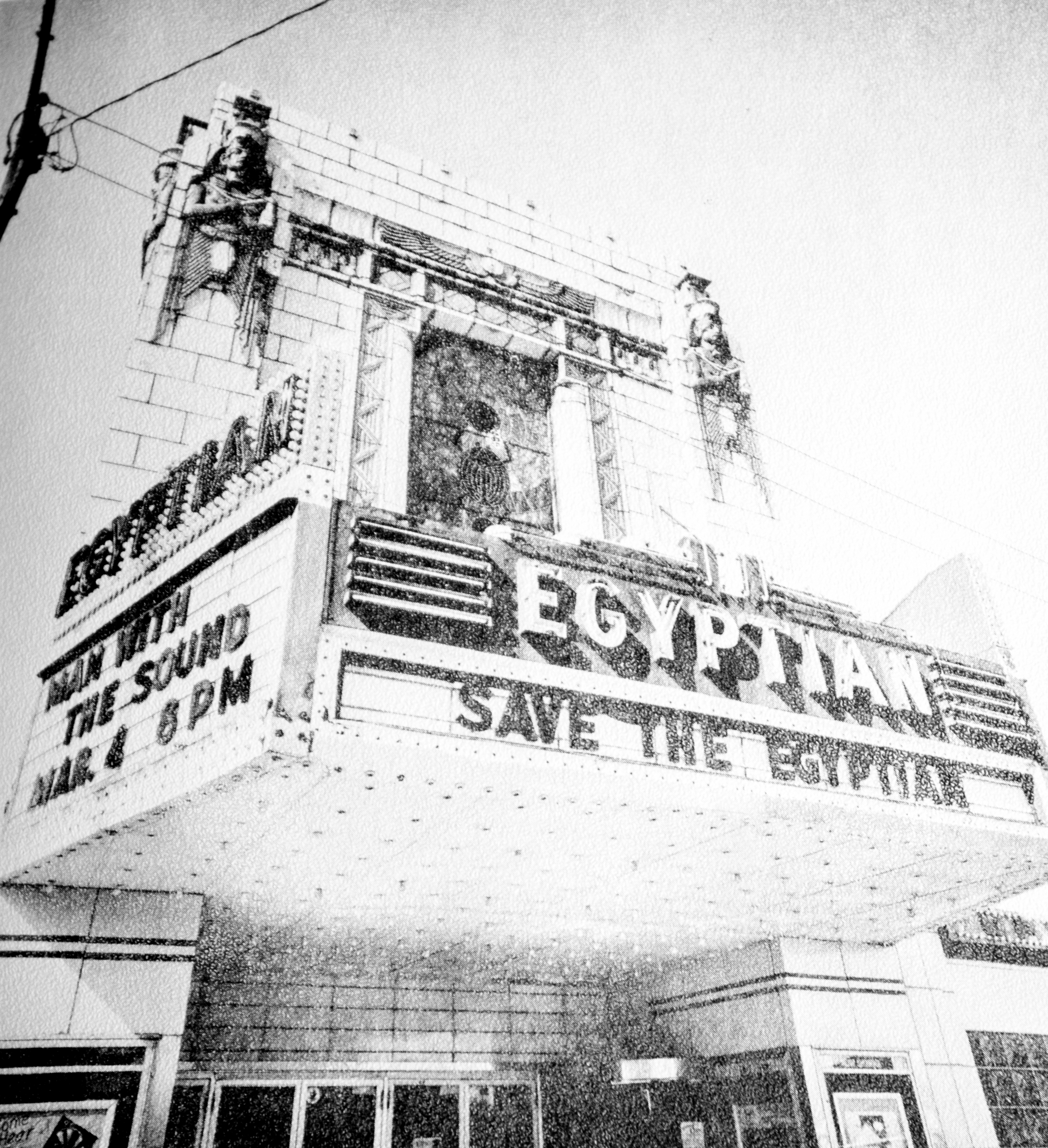 1979 view of the Egyptian Theater: Credit: http://egyptiantheatre.org/