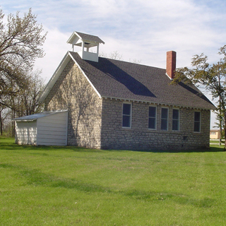 Rocky Ford School, courtesy of the Riley County Historical Society