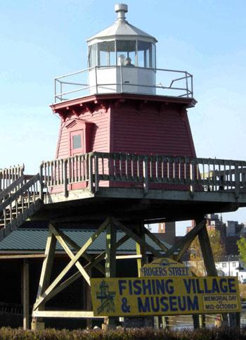 1886 Lighthouse at Roger Street Village