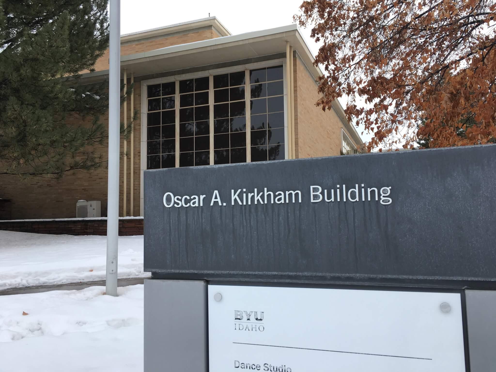 Kirkham Entrance Sign