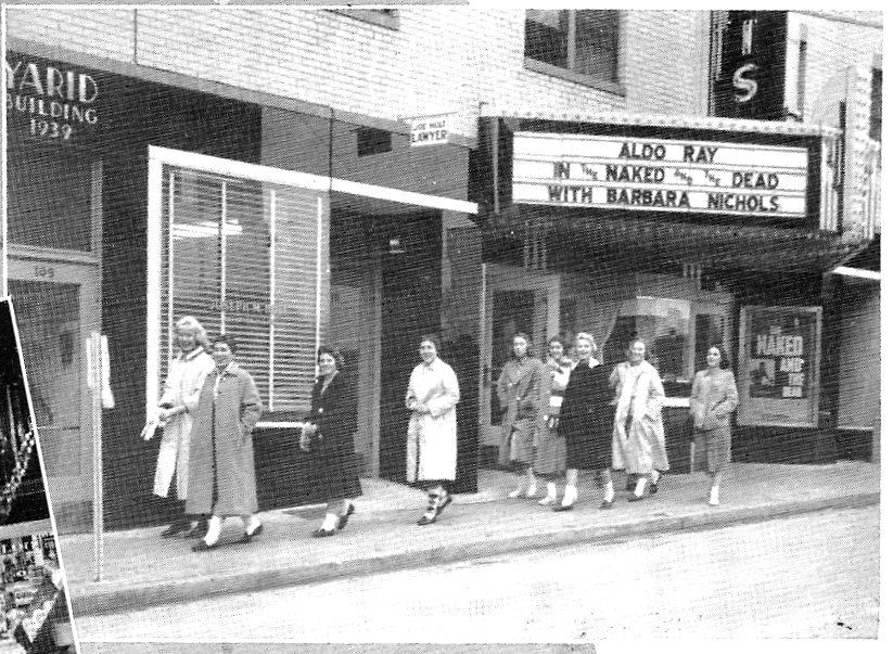 Lewis Theatre, 1959. Photo courtesy of Greenbrier Historical Society.