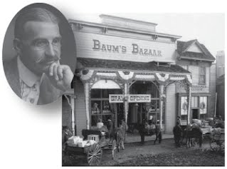 Baum in left corner, with his Bazaar in operation
