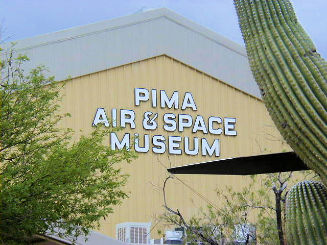 The Pima Air & Space Museum opened in 1976. Numerous military and aerospace aircraft are on display.